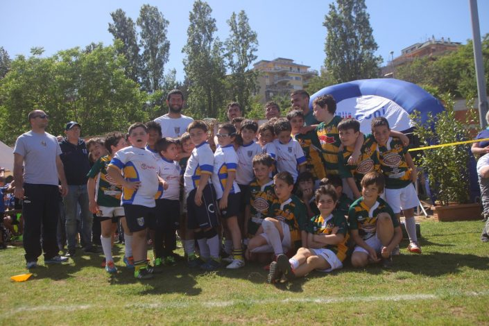 roma rugby premiazione